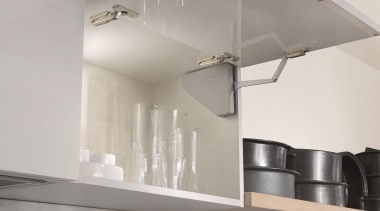 These compact systems, with integrated soft closing, maintain ceiling, light fixture, lighting, product design, tap, gray