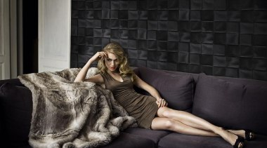 Caravaggio Range - Caravaggio Range - beauty | beauty, couch, fur, girl, model, photo shoot, photograph, photography, sitting, black