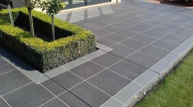 Colourmix 41 - Colourmix_41 - asphalt | driveway asphalt, driveway, grass, landscaping, lawn, line, road surface, sidewalk, walkway, wall, gray