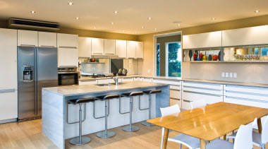 Paraparaumu Kitchen - Paraparaumu Kitchen - countertop | countertop, interior design, kitchen, real estate, room, orange, gray