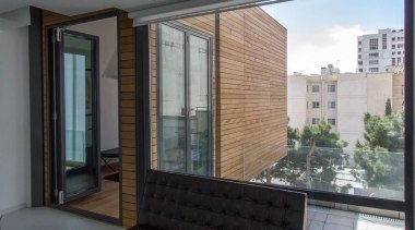 The Sharifi-ha House in Tehran can adapt to apartment, architecture, building, condominium, daylighting, facade, glass, house, interior design, property, real estate, roof, window, gray, black
