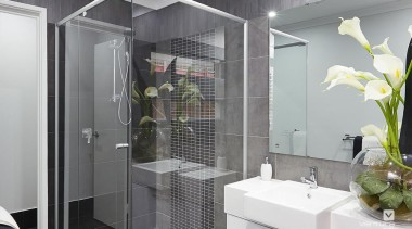 Ensuite design. - The Monterosso Two Storey Display bathroom, room, gray