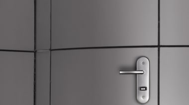 Lever Handle on PlateFor more information, please visit hinge, product design, gray