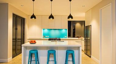 Entrant: Dan Just – 2015 NKBA Design Awards countertop, home, interior design, kitchen, real estate, room, table, orange