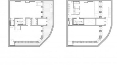 The South Fulham Conservative Club lies unoccupied close area, design, diagram, floor plan, line, plan, white