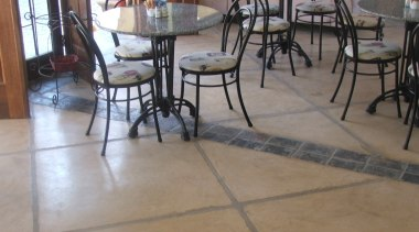 Overlay_88 - chair | concrete | floor | chair, concrete, floor, flooring, furniture, hardwood, laminate flooring, material, table, tile, wood flooring, gray, brown