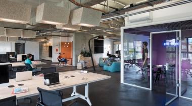 Online audio platform SoundCloud has been one of interior design, office, gray, black