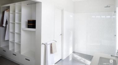 Ensuite design. - The Element Display Home - bathroom, floor, interior design, plumbing fixture, product design, property, room, white