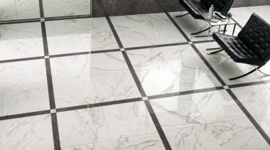 Calacatta interior floor tiles - Cb 4141375049973260 - floor, flooring, product design, table, tile, white, gray