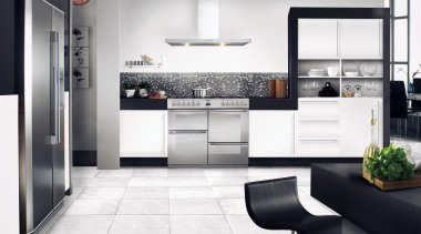 Sterling Collection by Belling - Belling Sterling - cabinetry, countertop, cuisine classique, floor, flooring, home appliance, interior design, kitchen, product design, room, white