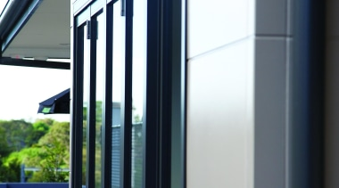 An affordable walling solution, Smooth panels provide designers architecture, daylighting, door, facade, glass, house, siding, window, white