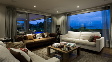 Kohi14 - estate | home | interior design estate, home, interior design, living room, penthouse apartment, property, real estate, room, window, black, gray