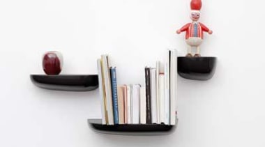 Corniche shelves by the Bouroullec brothers for Vitra furniture, product, product design, shelf, shelving, white