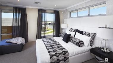 Master ensuite design. - The Lexington Two Storey bed frame, bedroom, interior design, property, real estate, room, suite, window, gray, white