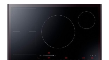 Cookware-Cooktop NZ84F7NC6AB/SAThe Samsung Neo Flex Induction Cooktop has cooktop, product, product design, black, white