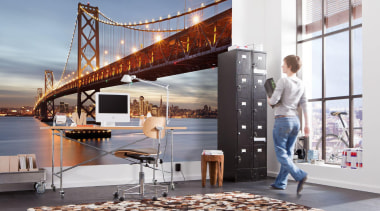 Bay Bridge Interieur - Italian Color Range - gray