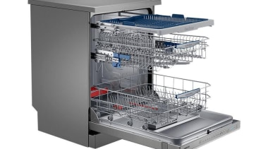 Dishwashers DW60H9970FSRevolutionise dish duty with WaterWall™ Technology. Only home appliance, kitchen appliance, major appliance, product, product design, small appliance, white, gray