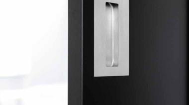 LSQ150 - Flush Pull. For Glue Fitting. Satin light fixture, lighting, product design, black, white