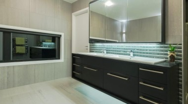 ADNZ Waikato Region Award Winner for Addition and countertop, interior design, kitchen, gray, black