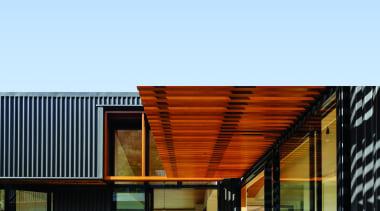 Makarori Beach House - V-Rib - Slate - architecture, facade, house, teal