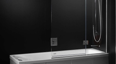 Laminam is a new concept in decorative surfaces angle, bathroom, bathroom accessory, bathroom cabinet, plumbing fixture, product, product design, black