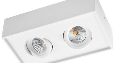 FeaturesThe clean and minimalist design of this surface lighting, product, product design, white