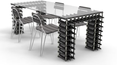 Sleek. Classy. Modern. Custom. Affordable. DIY. Store all angle, black and white, desk, furniture, product, product design, table, white