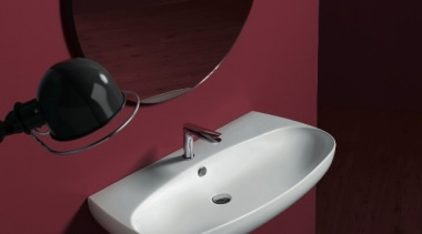 Vignoni 03 - angle | bathroom | bathroom angle, bathroom, bathroom sink, plumbing fixture, purple, sink, tap, toilet, toilet seat, red