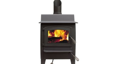 Fisher Denniston Multifuel Fire hearth, heat, home appliance, stove, wood burning stove, white