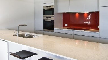 New Zealand Apartment Kitchen Designer of the Year countertop, interior design, kitchen, product design, table, gray