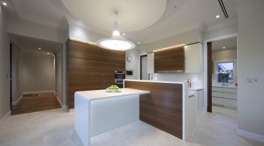 Winner Kitchen Design & Kitchen of the Year architecture, cabinetry, ceiling, estate, floor, flooring, home, interior design, kitchen, real estate, room, gray
