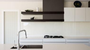 IMGL9867-15 - Dairy Flat Kitchen - furniture   furniture, kitchen, product, product design, shelf, shelving, tap, wall, gray