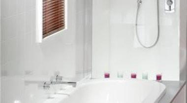 Villaboard Lining - Villaboard Lining - bathroom   bathroom, bathroom accessory, bathroom cabinet, bathroom sink, bathtub, bidet, floor, interior design, plumbing fixture, product design, room, sink, tap, tile, toilet seat, wall, white
