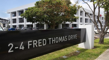 MERIT WINNER2 and 4 Fred Thomas Drive (2 building, home, house, neighbourhood, property, real estate, black