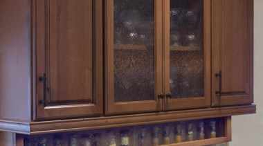 Easy to Access Spice Racks - Easy to cabinetry, countertop, furniture, interior design, kitchen, window, wood stain, brown