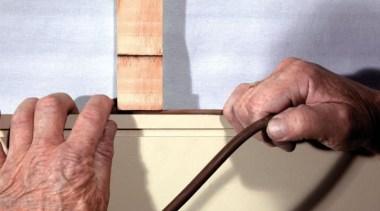 Simpler. Faster. Proven Weathertight. - A-lign Concealed Fix finger, hand, white