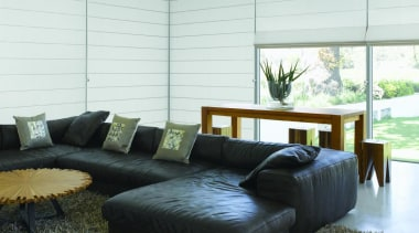 luxaflex roman shades - luxaflex roman shades - couch, furniture, home, interior design, living room, real estate, room, sofa bed, table, wall, window, window covering, window treatment, white