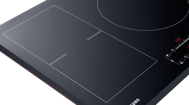 Cookware-Cooktop NZ84F7NC6AB/SAThe Samsung Neo Flex Induction Cooktop has product, product design, technology, black