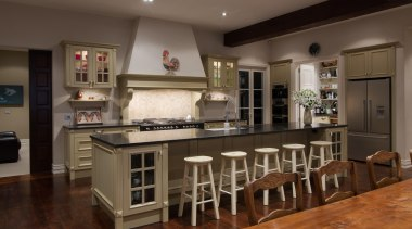 Img 4534 - cabinetry | countertop | cuisine cabinetry, countertop, cuisine classique, floor, flooring, hardwood, interior design, kitchen, real estate, room, table, brown, black