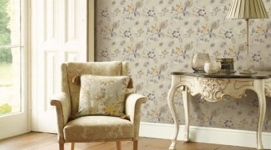 Grand Chateau Range - Grand Chateau Range - chair, coffee table, floor, flooring, furniture, home, interior design, living room, table, wall, wallpaper, window, window covering, window treatment, white