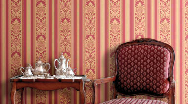 Hidden Richness Range - Hidden Richness Range - chair, couch, curtain, decor, floor, flooring, furniture, interior design, living room, pattern, table, wall, wallpaper, window, window covering, window treatment, wood, orange, red