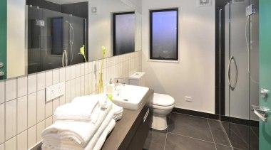 A modern bathroom - Bathroom - bathroom | bathroom, interior design, real estate, room, white