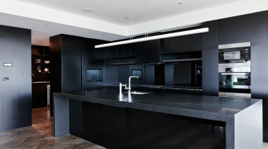 Daniel Ash Architects - cabinetry | countertop | cabinetry, countertop, cuisine classique, interior design, kitchen, real estate, black