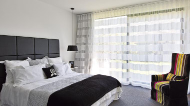 For more information, please visit www.gjgardner.co.nz architecture, bed frame, bedroom, curtain, home, interior design, property, real estate, room, suite, textile, wall, window, window blind, window covering, window treatment, gray, white