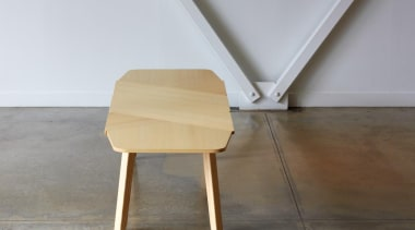 It's a wrap! Or rather, it's a Wrap chair, floor, furniture, line, plywood, table, wood, gray