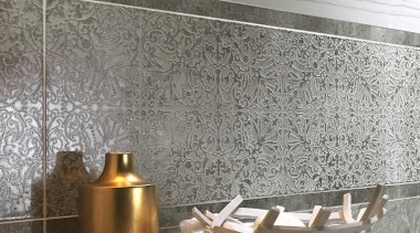 Marmi Imperiali - damasco decoro patterned tiles - floor, flooring, interior design, tile, wall, gray