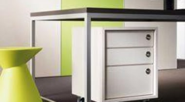 Wall featuring Melteca Bud and Cabinetry featuring Melteca chest of drawers, desk, drawer, furniture, product, table, white