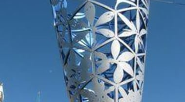 At Ellerslie International Flower Show - At Ellerslie building, landmark, sky, skyscraper, structure, tower, blue