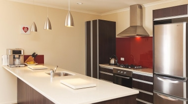For more information, please visit www.gjgardner.co.nz cabinetry, countertop, cuisine classique, interior design, kitchen, real estate, room, orange