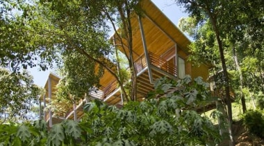 Casa Flotanta, Santa Teresa, Puntarenas, Costa RicaBenjamin Garcia cottage, home, house, outdoor structure, plant, property, real estate, tree, brown